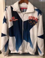 Champion Team USA 1996 Atlanta Olympics Award Ceremony Jacket Men's M NWT White