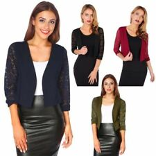 Polyester Formal Waist Length Jumpers & Cardigans for Women