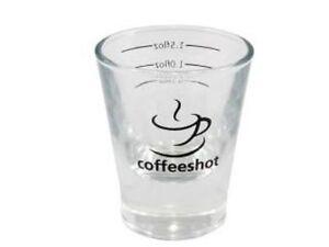 2oz Espresso Shot Glass (CS) x 3 - Great for Barista & Specialist Coffee Making!