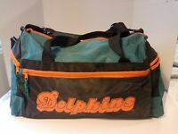 Vintage 1990's Miami Dolphins Nasco Duffle Bag. New with tags