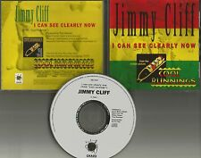 JIMMY CLIFF I can See Clearly Now PROMO DJ CD single 1993 COOL RUNNINGS Movie