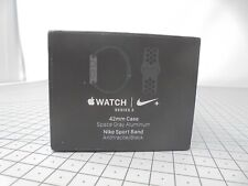 Apple Watch BOX ONLY - Series 3 - NIKE - 42mm - Space Gray Aluminium - AWN17