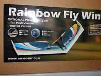 RAINBOW NURFLÜGLER VON FLYWING MATERIAL EPP 80 CM SPANNWEITE
