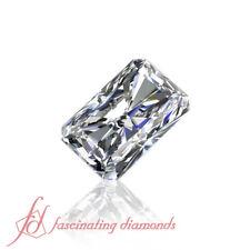 Best Quality Diamonds - 0.45 Carat Diamond Radiant Cut Eye Clean - GIA Certified