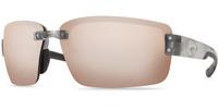 542d8f8cab2a Costa Del Mar Sunglasses Galveston GV 18 Silver / OSCP Copper Silver Mirror  580P