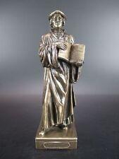 Martin Luther riformatore 17 cm personaggio bronzierte, collezione veronese, nuovo