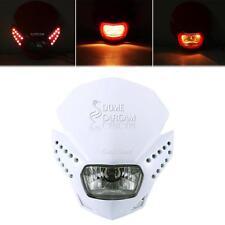 White LED Headlight Fairing Kit For Yamaha WR YZ XT TTR 225 250 400 426 450 500