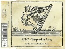 XTC - Wrapped in Grey Ultra Rare UK CD EP with demo tracks