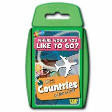 Top Trumps Countries of the World Card Game
