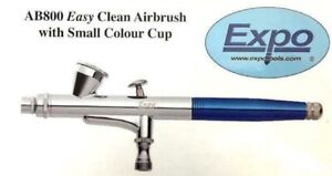 EXPO AB800 EASY CLEAN DUAL ACTION GRAVITY FEED AIRBRUSH