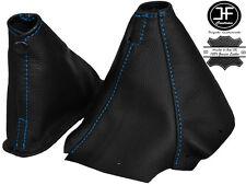 BLUE STITCHING LEATHER GEAR & HANDBRAKE BOOT FITS SKYLINE R34 1998-2002