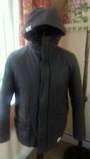 Wemoto Chaqueta de abrigo para hombre talla M marrón con Capucha de Invierno Acolchada Esquí Patinaje Cálido