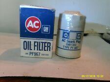 VINTAGE AC ( DELCO ) PF967 OIL FILTER 25011354
