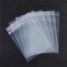 Lot 4 X 6 cm Sachet Plastique Pochette Fermeture Zip Lock Bags 100 Microns
