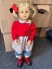 Hildegard Günzel Resin Puppe 76 cm. Top Zustand