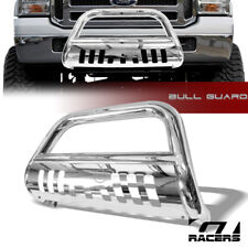 FOR 05-07 FORD F250/F350 SD CHROME STAINLESS BULL BAR BUMPER GRILL GRILLE GUARD