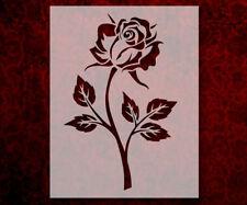 Single Rose Leaves 8.5