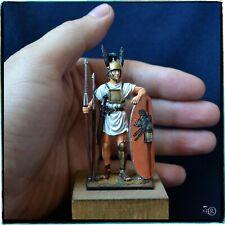 Tin Soldier 54 mm Roman Legionary, Hastati, Punic Wars, Hand Painted miniature