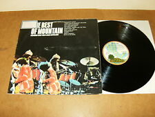 MOUNTAIN : THE BEST OF - GERMANY LP 1973 Gatefold - ISLAND 86 758 IT