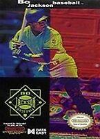 Bo Jackson Baseball - Nintendo NES Game Authentic