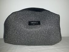 TUMI for DELTA AIRLINES first class business amenity bag cosmetic case EMPTY