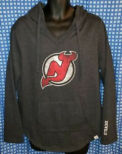 New Jersey Devils Fanatics Dark Gray Hoodie Sweatshirt - Youth XL (18/20)