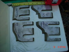 Lot 4 Moulder High Speed Knives  Blades  (Stock #2)