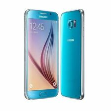Téléphones mobiles bleus Samsung Galaxy S6