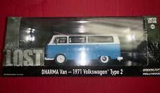 GREENLIGHT LOST TV 1971 VW VOLKSWAGEN TYPE 2 DHARMA VAN 1/43 GREEN MACHINE ERR
