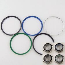 31.2mm*28mm*1.6mm Round Innner Case Plastic Chapter Ring fit BLIGER 45mm NH35A