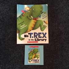 No T-Rex in the Library!  CD-ROM and Paperback book