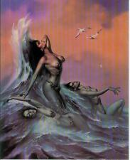 Boris Vallejo postercard: water Nymphs (estados unidos, 1992)