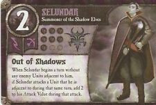 SUMMONER WARS CARD - SELUNDAR - SUMMONER OF THE SHADOW ELVES