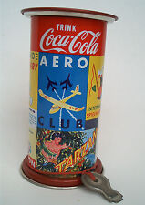 Nostalgie Litfaßsäule Coca Cola Tarzan Spielwaren Circus als Spardose Schlüssel