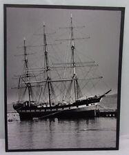 16X20 Original Print Photograph Matted Nautical Ship Interior  00004000 B&W