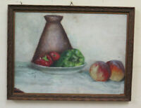 Dolphin Gagnor (1896-1970) Painting Nature Still Painting oil On Board BM45
