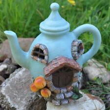 Fée maison Tea Pot Maison Jardin Lumière DEL Elf Lutin Magique Noël Décoration Neuf 39211