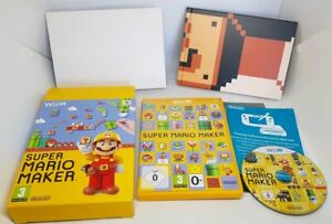 WII U SUPER MARIO MAKER SPECIAL EDITION WITH ART BOOK VGC FAST POST