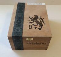CIGAR Box Liga Privada No 9 Corona Doble Drew Estate EMPTY Wooden Stash Box