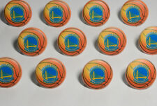 12 NBA Golden State Warriors Basketball Cupcake Ring Birthday Topper Party Favor