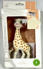"""Sophie La Girafe - 7"""" Baby Teething Toy - From France - 100% Natural Rubber 0+M"""