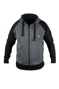 Preston Innovations Grey Zip Zipped Hoodie All Sizes SAVE £sss