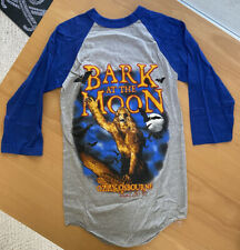 New listing (Vintage) 1984 Ozzy Osbourne Bark at the Moon Concert Tour T Shirt Raglan