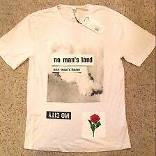 NWT Helmut Lang x Travis Scott Limited Edition Collection No Mans Land T Shirt S