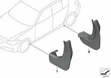 BMW F20 1 Series Genuine Front and Rear Mudflap Set 82162211820 82162211821