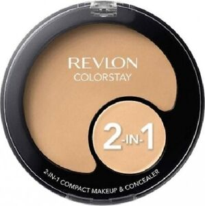 Revlon 2-in-1 Makeup & Concealer 11g - 3 Shades Available - New & Sealed