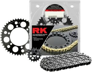 RK 4107-980E 530XSOZ1 X-Ring Steel Replacement Chain Kit Sprocket Kit Silver