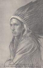 AMERICAN INDIANS : Chief Medicine Eagle - WADDINGTON-Cinema Advert Card