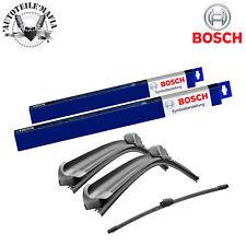 Bosch Scheibenwischer Set Vorne + Hinten Abarth 500 Ford Ka Renault Zoe