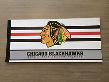 Full 2012-13 Chicago Blackhawks Full Regular Season Ticket Stubs Untorn Mint!